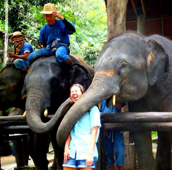 elephantkiss